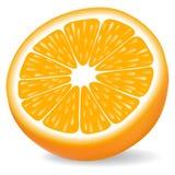 Segmento anaranjado Imagenes de archivo