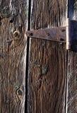 Segmento da porta de celeiro imagens de stock