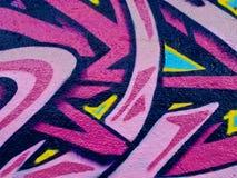 Segmento dos grafittis Fotografia de Stock Royalty Free