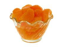 Segmentos de la mandarina Imagenes de archivo