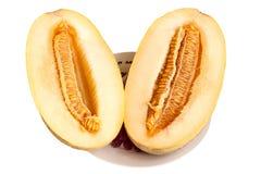 Segmentos de um melão doce e perfumado Foto de Stock Royalty Free