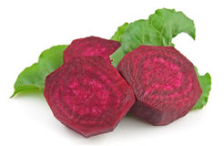 Segments of a beet Stock Photo