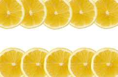 Segments de citron Images stock