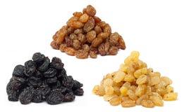 Segments de mémoire de raisins secs Images libres de droits