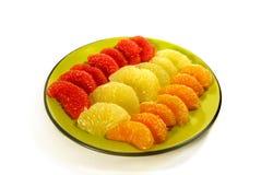 Segments enlevés de citron Image libre de droits