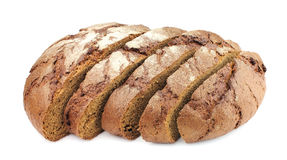 Segments of house gray bread Royalty Free Stock Image