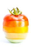 segmentu pomidor Obrazy Stock
