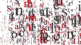 Segna la cascata con lettere royalty illustrazione gratis