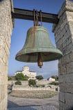 Segnalatore acustico bronzeo in Chersonesos in Crimea, Ucraina Immagini Stock