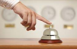 Segnalatore acustico dell'hotel Immagini Stock Libere da Diritti