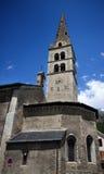 Segnalatore acustico della torretta della chiesa a Grenoble Fotografie Stock Libere da Diritti