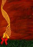 Segnalatore acustico dorato Fotografia Stock Libera da Diritti
