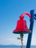 Segnalatore acustico rosso Fotografia Stock Libera da Diritti