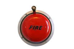 Segnalatore d'incendio di incendio fotografie stock libere da diritti