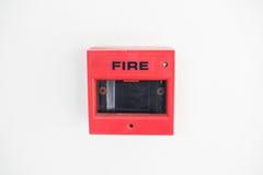 Segnalatore d'incendio di incendio Fotografie Stock