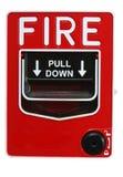 Segnalatore d'incendio di incendio fotografia stock libera da diritti