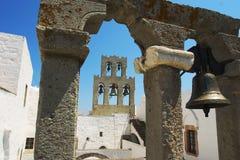 Segnalatori acustici del monastero Fotografia Stock Libera da Diritti