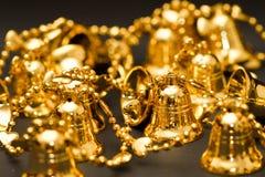 Segnalatori acustici dell'oro Fotografie Stock Libere da Diritti