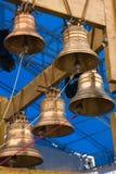 Segnalatori acustici dell'oro fotografia stock