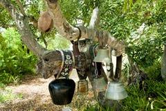 Segnalatori acustici della mucca Fotografia Stock