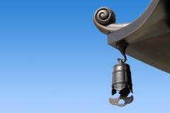 Segnalatori acustici orientali del tempiale fotografia stock