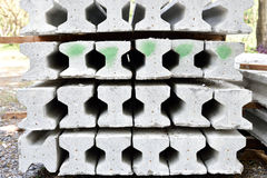 Segnale del calcestruzzo prefabbricato Immagine Stock Libera da Diritti
