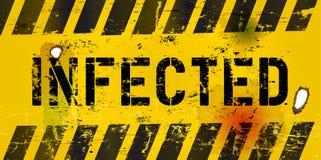 Virus informatico Fotografia Stock Libera da Diritti