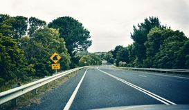 Segnale di pericolo della koala Fotografie Stock Libere da Diritti