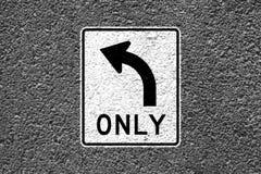 Segnale di pericolo della strada Immagine Stock Libera da Diritti