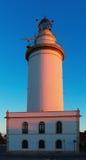 Segnale a Malaga nella mattina fotografia stock libera da diritti