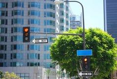 Segnale stradale Immagini Stock Libere da Diritti