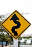 Segnale stradale Fotografia Stock
