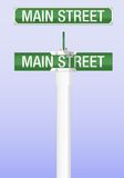 Segnale stradale Immagine Stock
