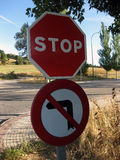 Segnale stradale immagine stock libera da diritti