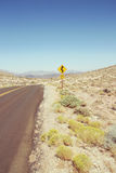 Segnale stradale da uno stato all'altro Fotografia Stock