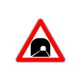 Segnale stradale del tunnel della Russia avanti illustrazione di stock
