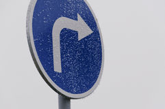 Segnale stradale di traffico Immagine Stock Libera da Diritti
