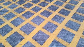 Segnale stradale nessun parcheggio fotografia stock