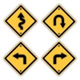 Segnali stradali. Fotografia Stock
