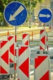Segnali stradali Immagine Stock