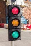 Segnali stradali confusi Fotografia Stock