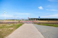 Segnali stradali tedeschi di proibizione Fotografia Stock Libera da Diritti