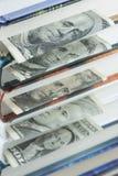 Segnalibri del dollaro Immagini Stock