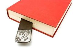 Segnalibro in un libro Fotografie Stock