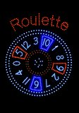 Segnalizzazione delle roulette Fotografia Stock
