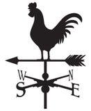 Segnavento del gallo Immagini Stock Libere da Diritti
