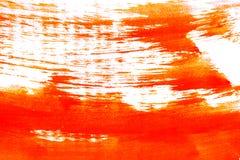 Segni asciutti del pennello Fotografia Stock Libera da Diritti