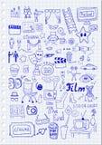 Segni del cinema Immagine Stock Libera da Diritti