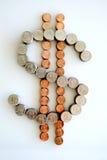 Segni del dollaro Immagini Stock Libere da Diritti