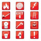 Segni del fuoco Fotografia Stock Libera da Diritti
